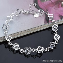 $enCountryForm.capitalKeyWord Australia - New Hot 925 sterling silver chain bracelet nice street style fashion jewelry Christmas gifts low price free shipping 2
