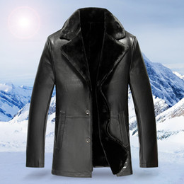 $enCountryForm.capitalKeyWord Canada - 2017 Winter Brand New Leather Thick Warm Wool Liner Men'S Suede Lambskin Leather Coat Winter Jacket For Men plus size