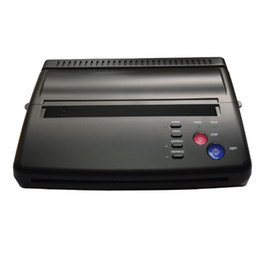 Chinese  Maquiagem Tattoo Copy Machine lowest price A4 Transfer Paper black Tattoo copier thermal stencil copy Transfer Machine manufacturers