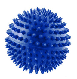 Wholesale 2018 Footful Spiky Massage Ball Trigger Point Sport Fitness Hand Foot Pain Relief