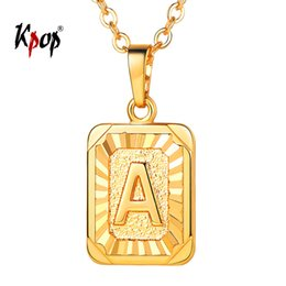 4ac851b467799 Square Letter Necklaces Online Shopping   Square Letter Necklaces ...