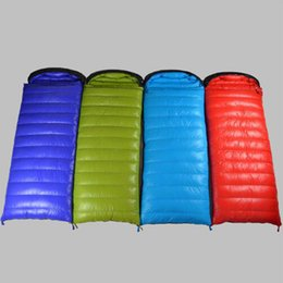 Useful Autumn And Winter Outdoor Single Stitching Sleeping Bag Ultra Light Thick At6102 Comfortable And Easy To Wear Sleeping Bags Camping & Hiking
