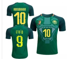 4431fb15b70 2018 2019 Cameroon soccer jersey national team Vincent Aboubakar Clinton  N'Jie Benjamin Moukandjo jerseys maillot de foot football shirts