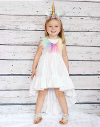 Toddler Sexy Australia - 2018 INS Summer clothes Baby girl Toddler Long Beach Dress Sexy Hollow Back irregularly tailed dress Princess Lace Ruffles