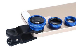 $enCountryForm.capitalKeyWord UK - Phone 3 in 1 Universal Fish Eye Wide Angle Macro Fisheye Lens With Clip For Apple iphone Samsung All Cellphone High Quality Glass MQ100
