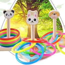 $enCountryForm.capitalKeyWord Canada - New Children Outdoor Fun & toy sports Tossing Ring joy ferrule throwing game parent child interaction Toys Indoor Toys