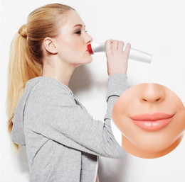 Mujeres Sexy completa Lip Plumper Enhancer Lips Plumper Tool Device Masaje de silicona Tomate Forma Family Body Cupping Tazas