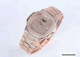 $enCountryForm.capitalKeyWord UK - 2018 Best fashion Quality Full Diamond Watch Automatic Movement Mechanical Waterproof Luxury Man Watch 40mm Man Watch Free Shipping