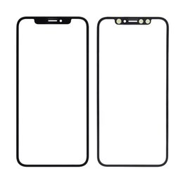 Moq Screen Australia - (MOQ 20Pcs) Front Glass Panel For iPhone X   XS   XS Max   XR LCD Outer Touch Screen Panel Replacement Ship via DHL