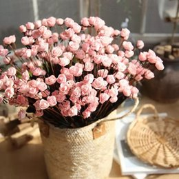 $enCountryForm.capitalKeyWord Australia - Colorful Silk Artificial Flowers 15 Head Mini Rose Home Decor For Wedding Small Roses Flower Bouquet Decoration Wholesale