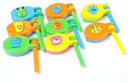 Discount clapper toy - 12 pc Mini 6cm Clackers Clickers Toys Pinata Bag Filler Loot Gag Prize Gift Noise Makers Clapper Birthday Party Favors C