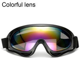 3b7c648813f Outdoor Sport Man Woman DH Len Bike Bicycle Skiing Glasses UV400 Cycling  Eyewear Off Road Racing Windproof Motocross Glasses