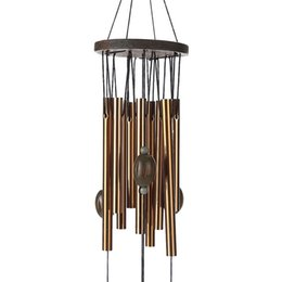 Chinese  Copper Pipe Wind Chimes Ship Anchor Lucky Indoor Courtyard Ornaments Novelty Items Retro Home Furnishing Free Shipping 8 8bz V manufacturers