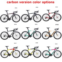 18 Inch Wheel Bikes Australia - 2019 Costelo Speedcoupe carbon fiber road bike frame complete bicycle with 40mm wheels group cheap bike 9 Color
