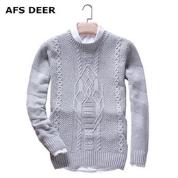 Discount winter jumpers men - Pullover Sweater Men 2017 new Autumn solid Casual Men Sweater male Brands Winter Men's O-Neck Cotton Jumpers