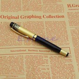 $enCountryForm.capitalKeyWord Australia - HERO 901 Medium Nib Fountain Pen Luxury Black & Gold Stainless New