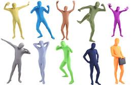 $enCountryForm.capitalKeyWord NZ - Many ColorsZentai Lycra Spandex catsuit Full Body suits Halloween Costume adult Skin Blue