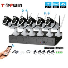 Talk Vision NZ - 6CH two way audio talK HD Wireless NVR Kit P2P 1080P Indoor IR Night Vision Security 2.0MP IP Camera WIFI CCTV System