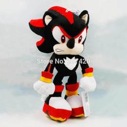 $enCountryForm.capitalKeyWord Canada - 30cm 12inch Collection Games Black Sonic the Hedgehog Plush Dolls,Birthday Gift Toys,1pcs pack