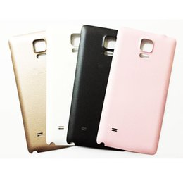 $enCountryForm.capitalKeyWord NZ - New Battery Back Cover For Samsung Note 4 Rear Door Housing Case Replacement Parts