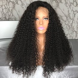 $enCountryForm.capitalKeyWord Australia - 180% Density Brazilian hair lace frontal human hair wigs pre plucked curly 360 lace frontal wig for black women
