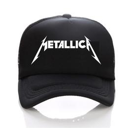 Logotipo de Metallica Gorra de béisbol moda Hombres y mujeres Sombrero de  Hip-Hop Sombrero de ocio Joven sol de deportes al aire libre pareja f0922d33260