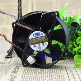 12v fan for cooling 2019 - New CPU Cooler Fan For DA09025B12U P047 P002 DC 12V 0.7A 9CM 90*90*25MM Round Frame Supports Double Ball Bearing PWM 4 P