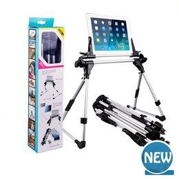 Support universel de table, support en aluminium ultra-léger pliable d'iPad de mains d'alliage léger de bureau / sofa / lit de pied pour tous les Smart Phone, E-re en Solde