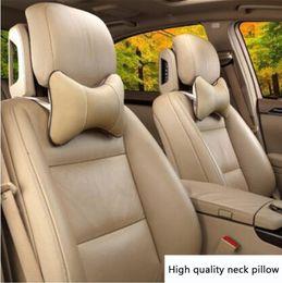 China Car seat head cushion car seat headrest winter car headrest leather auto supplies neck Warm Auto safety suppliers