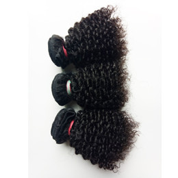 virgin cambodian kinky hair NZ - Kinky Curly Brazilian Virgin Hair Factory Direct SaleIndian remy hair extension new style short 8-12inch sexy Human Hair 50g pc 300g lot