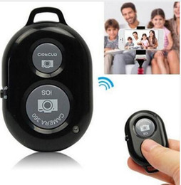 Wholesale Useful Wireless Bluetooth Self-Timer Shutter Release Camera Remote Controller for iPhone 5 6 for Samsung Smart android Phone Photograph