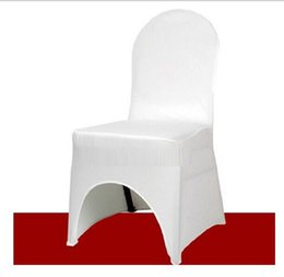 $enCountryForm.capitalKeyWord Canada - chair covers new hot fashion White High Quality Polyester Wedding banquet meeting party restaurant hotel Chair decorations Covers Z313C