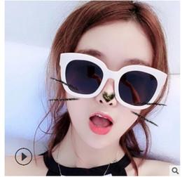 Black Blocks Australia - 2018 Sunglasses black Brand Designer Cateye UV400 Tide mico New Women Block Sun glasses For Female clout goggles 5137