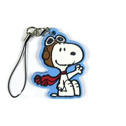 $enCountryForm.capitalKeyWord NZ - PEANUTS Original Japanese anime figure rubber Silicone sweet smell mobile phone charms key chain strap D160