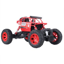 Electric Road Cars UK - 1:16 Remote Control Climbing Car Large Car Drift Four-wheel Drive Remote Control Toy Model Children Off-road Boy Electric Control Toy Car