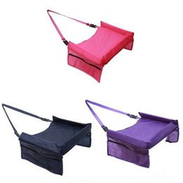 Christmas Tables Canada - High Quality Waterproof Table Car Safety Seat Tray Storage Kids Toy Infant Stroller Holder for Children Baby Rattles