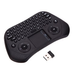 $enCountryForm.capitalKeyWord UK - Ultra Mini QWERTY 79 Key Tochpad Remote Control 2.4GHz Wireless Keyboard Air Smart Mouse Mice with USB Receiver for TVbox Laptop