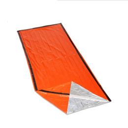 $enCountryForm.capitalKeyWord Australia - Outdoor emergency sleeping bag, radiation insulation, insulation and life saving sleeping bag PE orange AT9040