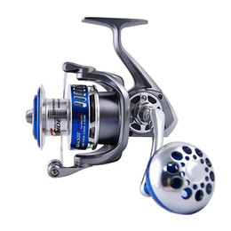 Reel bodies online shopping - 13BB Ball Bearings Full Metal Body Fishing Reels China Aluminum Alloy Saltwater Fishing Spinning Reel MX4000