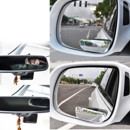vehicle blind spot mirrors 2019 - Car Mirror Auto 360 Wide Angle Round Convex Mirror Car Vehicle Side Blindspot Blind Spot Mirror Small Round RearView 2pc