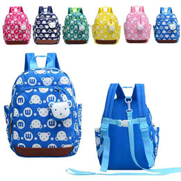 kids harnesses NZ - 6 colors Children Schoolbag New Baby Walking Baby Toddler kids Backpack Strap Bag Anti Lost Children Harnesses & Leashes