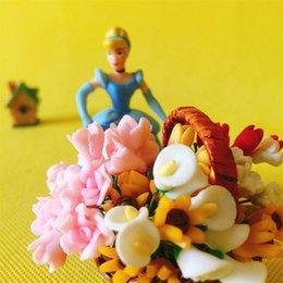 vendita ~ 30 Pz / fiore artificiale / miniature / piante carine / fairy garden gnome / moss terrarium decor / artigianato / bonsai / bottle garden / c095 in Offerta