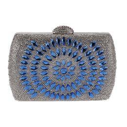 $enCountryForm.capitalKeyWord UK - Evening Clutch Bags Rhinestones Diamond-Studded Evening Bag Chain Shoulder Bag Womens Handbags Wallets For Wedding
