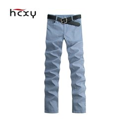 Discount longest yard - 2016 Hitz fashion trousers pants feet long pants 100% cotton fabric men's casual big yards