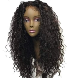 Chinese  360 Lace Frontal Human Hair Curly Wigs Afro Kinky Curly Full Lace Wig Peruvian Virgin Hair Lace Front Wig with Baby Hair manufacturers