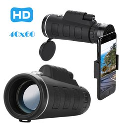 night vision telescope camera 2019 - newHD 40x60 Optical Zoom Camera Telescope Lens With Clip For  Phone Universal HD Night Vision with Phone Clip cheap nigh
