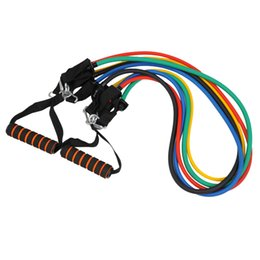 $enCountryForm.capitalKeyWord Canada - Men's Portable Chest Expander Puller Exercise CrossFit Muscle Training Rope Fitness Resistance Cable Rope Tube Resistance Bands