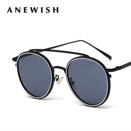 119fd8270888 Fashion Korean Style Red Metal Sunglasses Colorful Really Film Sun Glasses  Restore Ancient Ways Sunglasses Trend Glasses 8506