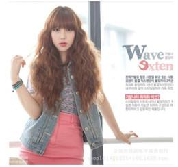 European Wigs Sale NZ - European and American new fluffy women, Qi Liu Hai, corn, hot face, long hair, foreign trade wig set, factory direct sale.