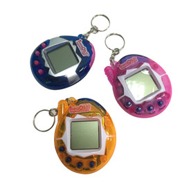90s nostalgic 49 pets in one virtual cyber pet toy funny tamagotchi gift keyring pets toys gift christmas hot electronic christmas gifts outlet - Electronic Christmas Gifts